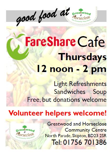 Fareshare Cafe Poster 2