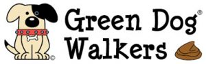 green dog walkers